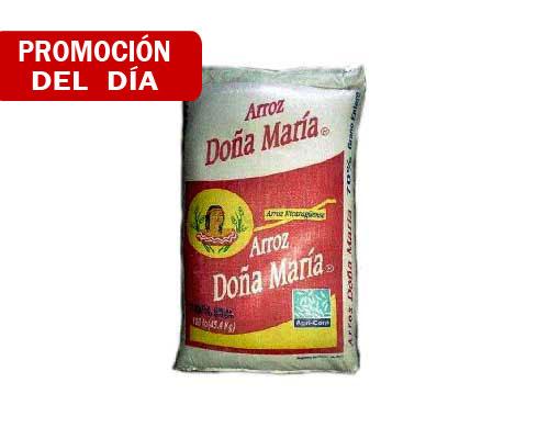 Arroz Doña Maria 80/20, Quintal