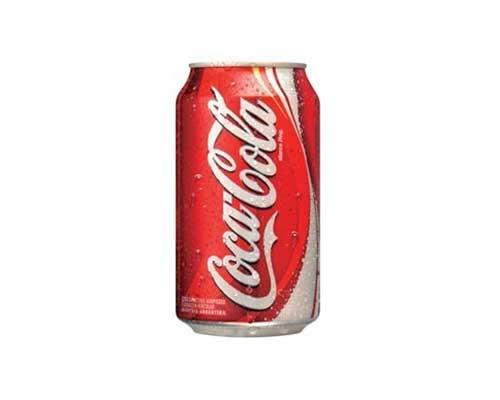 Bebidas : Coca Cola Lata 354 Ml
