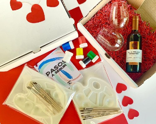 Sip and Paint Box - Boxed
