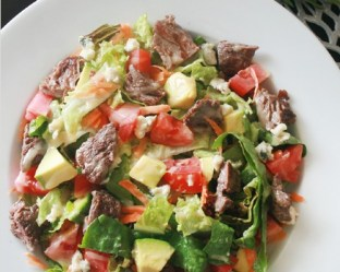 Steak salad emporio