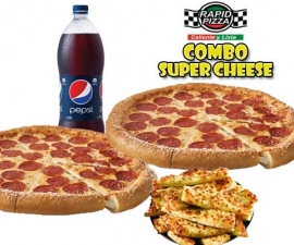 Combo Super Cheese - Rapid Pizza
