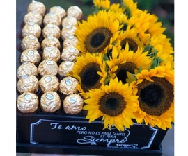 Marsella Sweet Sunflower Box - RSVP Designs