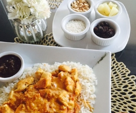 Pollo al Curry - Emporio Cafe & bistro
